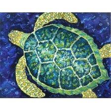 Sea Turtle Canvas Mat