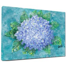 Hydrangea Mounted Giclee Wall Art