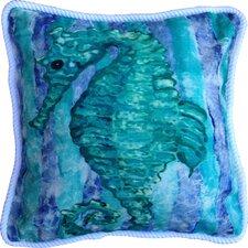 Seahorse Cotton Pillow