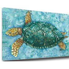 Turtle Mounted Giclee Wall Art