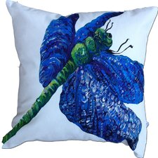 Dragonfly Cotton Pillow