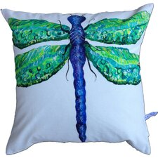 <strong>My Island</strong> Dragonfly Cotton Pillow