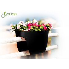 <strong>Greenbo Rail Planters</strong> XL Designer Oval Rail and Deck Planter (Set of 2)