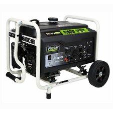 Dual-Fuel Peak 4100 Watt Liquid propane/Gasoline Generator