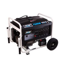 Dual Fuel Peak 7500 Watt Liquid Propane Generator