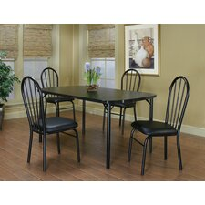 Ebony 5 Piece Counter Height Dining Set