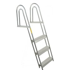 4-Step Dock Pontoon Ladder