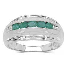<strong>JewelzDirect</strong> 925 Sterling Silver Gemstone Ring