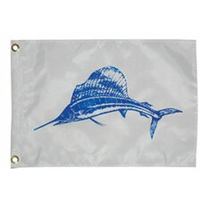 Novelty Design Sailfish Traditional Flag