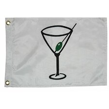 Novelty Design Cocktail Traditional Flag