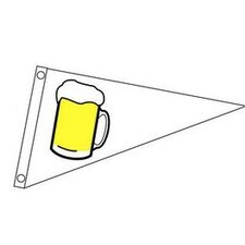 Stylish Beer Mug Pennant