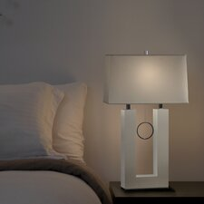 "Earring 31"" H Reclining Table Lamp"