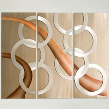 3 Piece Ethereal Graphic Wall Décor Set