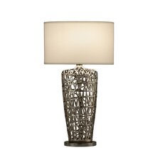 "Bird's Nest Heart 30"" H Table Lamp with Rectangular Shade"