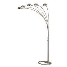 Mushroom 5 Light Arc Floor Lamp