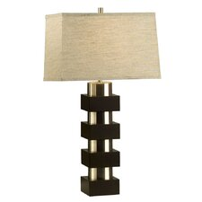 "Morgen 28"" H Table Lamp with Rectangle Shade"