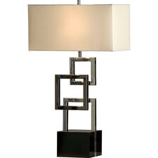 """Cuadros 31"""" H Table Lamp with Rectangle Shade"""