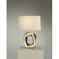 "Matrimony Reclining 22"" H Table Lamp with Oval Shade"