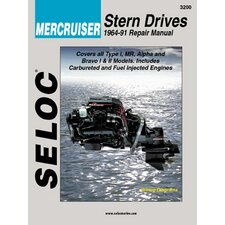 Mercruiser Stern Drive Inboards, 1964 - 1991 Repair and Tune-Up Manual