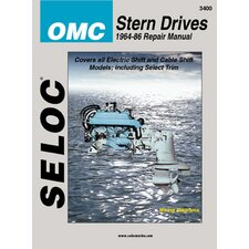 OMC Stern Drive, 1964 - 1986 Repair and Tune-Up Manual