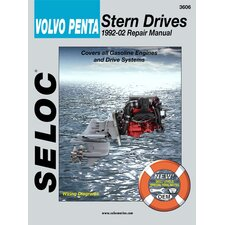 <strong>SELOC PUBLISHING</strong> Volvo Penta Stern Drive Inboard, 1992 - 2002 Repair and Tune-Up Manual