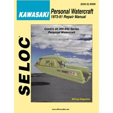 Kawasaki Personal Watercraft, 1973 - 1991 Repair and Tune-Up Manual