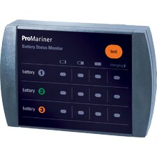 <strong>Professional Mariner, LLC</strong> ProTournament Remote Battery Bank Status Monitor