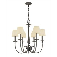 <strong>Hudson Valley Lighting</strong> Jefferson 6 Light Chandelier
