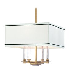 <strong>Hudson Valley Lighting</strong> Collins 4 Light Chandelier