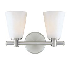 Garland 2 Light Bath Vanity Light