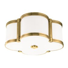 Chandler 2 Light Flush Mount