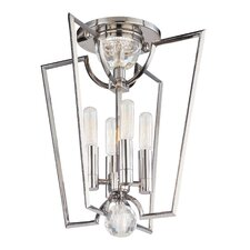 <strong>Hudson Valley Lighting</strong> Waterloo 4 Light Semi Flush