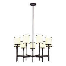<strong>Hudson Valley Lighting</strong> Aberdeen 9 Light Chandelier