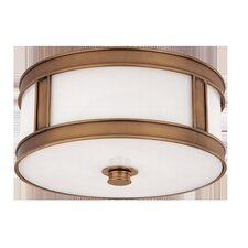 <strong>Hudson Valley Lighting</strong> Patterson 2 Light Flush Mount