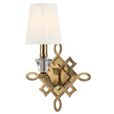 <strong>Hudson Valley Lighting</strong> Fowler 1 Light Wall Sconce