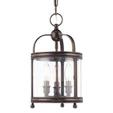 <strong>Hudson Valley Lighting</strong> Larchmont 3 Light Foyer Pendant