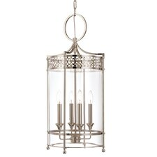 Amelia 4 Light Foyer Pendant
