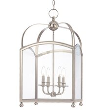 <strong>Hudson Valley Lighting</strong> Millbrook 4 Light Foyer Pendant