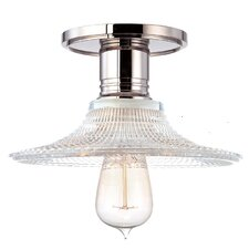 <strong>Hudson Valley Lighting</strong> Heirloom 1 Light Semi-Flush Mount