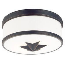 Seneca 2 Light Flush Mount