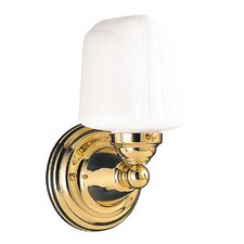 <strong>Hudson Valley Lighting</strong> Burlington 1 Light Wall Sconce