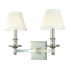 <strong>Hudson Valley Lighting</strong> Litchfield 2 Light Wall Sconce