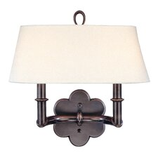 <strong>Hudson Valley Lighting</strong> Pamona 2 Light Wall Sconce
