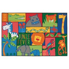 <strong>Kids Value Rugs</strong> Jungle Fever Kids Rug
