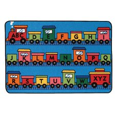 Alphabet Train Kids Rug