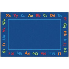 Alphabet Value Kids Rug