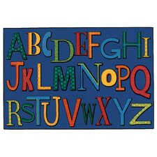 <strong>Kids Value Rugs</strong> Playful Alphabet Kids Rug