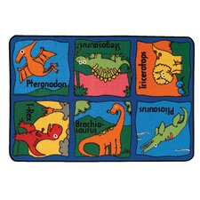 <strong>Kids Value Rugs</strong> Dino-Mite Kids Rug