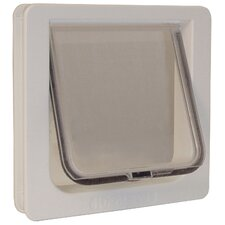 "8-3/16"" x 7-15/16"" 4 Way Locking Cat Flap"