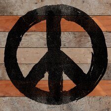 All Peace Reclaimed Wood - Douglas Fir Art